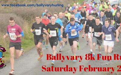 2016 Ballyvary Fun Run Results