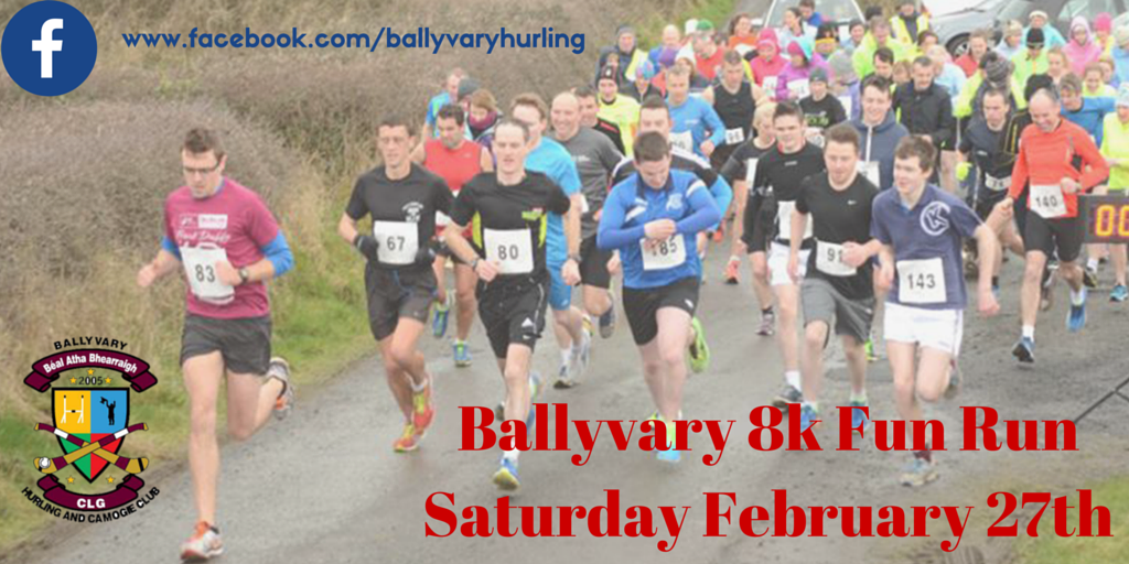 2016 Ballyvary Fun Run Results