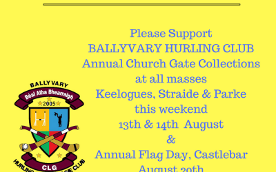 2016 Church Gate Collection and Flag Day