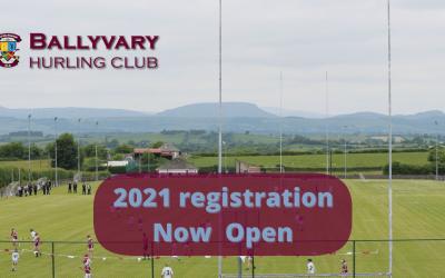 2021 Registration